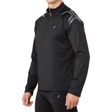 Asics Men's Icon Winter HZ Top | Black / Dark Grey