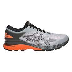 Asics Men's Kayano 25 | Grey / Nova Orange