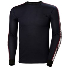 Helly Hansen Men's Lifa Stripe Crew | Navy