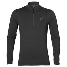 Asics Men's LS 1/2 Zip Jersey | Dark Grey Heather