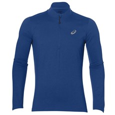 Asics Men's LS 1/2 Zip Jersey | Directoire Blue / Heather