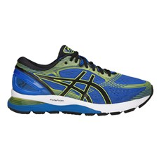 Asics Men's Nimbus 21 | Illusion Blue / Black
