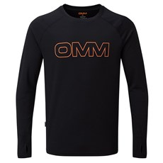 OMM Men's Bearing LS Tee | Black