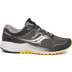 Saucony Men's Omni ISO 2 | Grey / Yellow