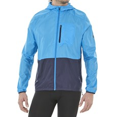 Asics Men's Packable Jacket | Race Blue / Peacoat