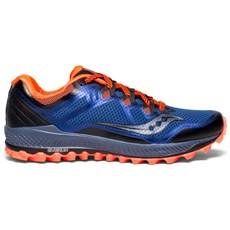 Saucony Men's Peregrine 8 | Blue / Black