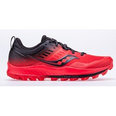 Saucony Men's Peregrine ST | Red / Black