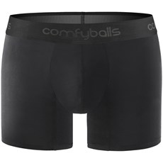 Comfyballs Performance Long Boxer | Pitch Black