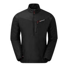 Montane Men's Prism Ultra Pull On | Black / Altine Red