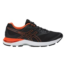 Asics Men's Pulse 9 | Black / Cherry Tomato