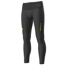 Scott Men's RC Run Full Tight | Black / Yellow