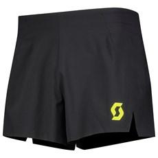 Scott Men's RC Run Split Short | Black / Yellow