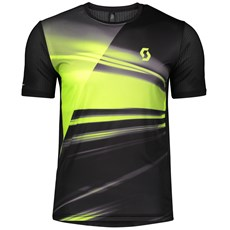 Scott Men's RC Run SS Shirt | Black / Yellow