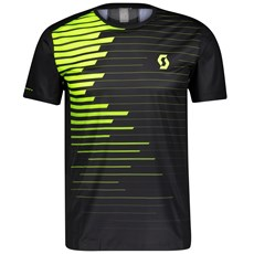 Scott Men's RC Run S/SL Shirt | Black / Yellow