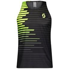Scott Men's RC Run Tank | Black / Yellow