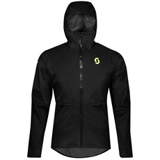 Scott Men's RC Run WP Jacket | Black / Yellow