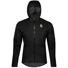 Scott Men's RC Run WP Jacket | Black / Yellow