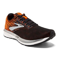 Brooks Men's Ricochet | Black / Orange