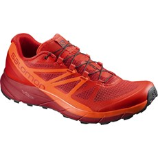 Salomon Men's Sense Ride | Fiery Red / Scarlet Ibis