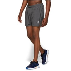 "Asics Men's Silver 5"" Short 