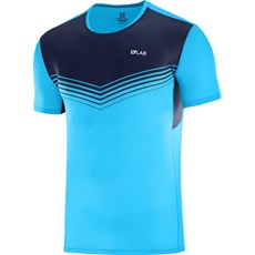 Salomon Men's S-Lab Sense Tee | Transcend Blue / Night Sky