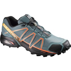 Salomon Men's Speedcross 4 | North Atlantic / Scarlet Ibis