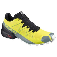 Salomon Men's Speedcross 5 | Sulphur Spring / Black