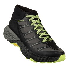 Hoka Men's Speedgoat Mid WP | Black / Sleet Grey