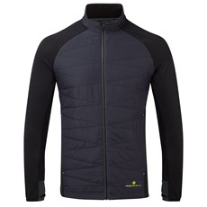 Ron Hill Men's Tech Hybrid Jacket | Charcoal / Black