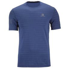 Salomon Men's XA Tee | Poseidon / Heather