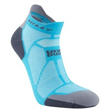 Hilly Women's Marathon Fresh Socklet | Peacock / Charcoal