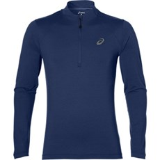 Asics Men's Core LS 1/2 Zip Jersey | Indigo Blue Heather