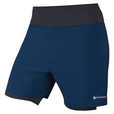 Montane Men's Dragon Twin Skin Short | Narwhal Blue / Laser Green