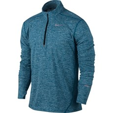 Nike Men's Element Top | Industrial Blue / Heather