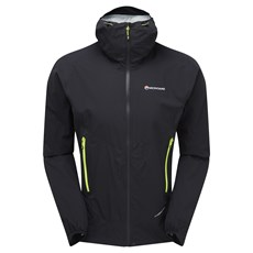 Montane Men's Minimus Stretch Ultra Jacket | Black / Laser Green