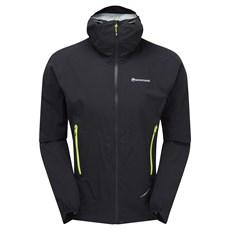 Montane Men's Minimus Stretch Ultra Jacket | Black / Laser Green