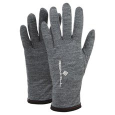 Ron Hill Unisex Merino 200 Glove | Grey Marl / Black