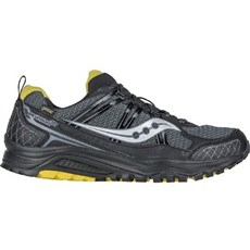 Saucony Men's Excursion 10 GTX | Black / Yellow