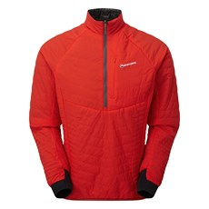 Montane Men's Fireball Verso Pull On | Flag Red / Shadow