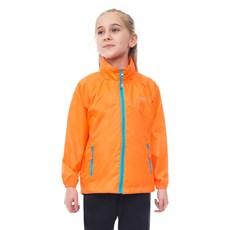 Mac in a Sac Junior Neon Jacket | Neon Orange