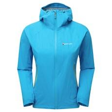 Montane Women's Minimus Stretch Ultra Jacket | Cerulean Blue / Tabular Orange