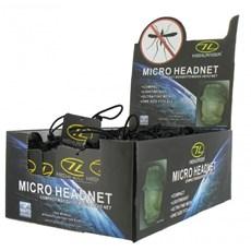 Highlander Midge Micro Head Net | Green