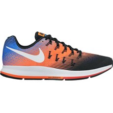 Nike Men's Pegasus 33 | Black / Hyper Orange