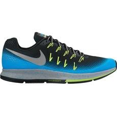Nike Men's Pegasus 33 Shield | Black / Blue Glow