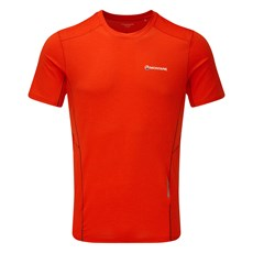 Montane Men's Sabre Tee | Flag Red / Shadow