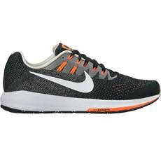 Nike Men's Structure 20 | Black / Matte Silver