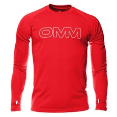 OMM Men's Trail LS Tee | Red