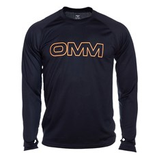 OMM Men's Trail LS Tee | Black