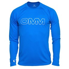 OMM Men's Trail LS Tee | Blue