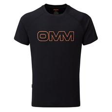 OMM Men's Bearing SS Tee | Black Logo